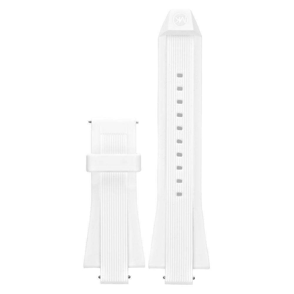 Michael Kors Access Dylan White Silicone Watch Strap