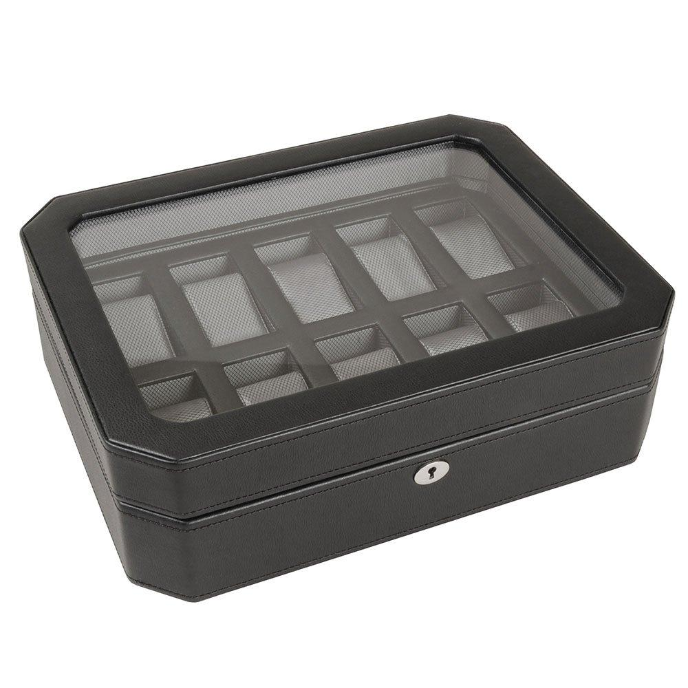 WOLF Windsor Ten Piece Watch Box