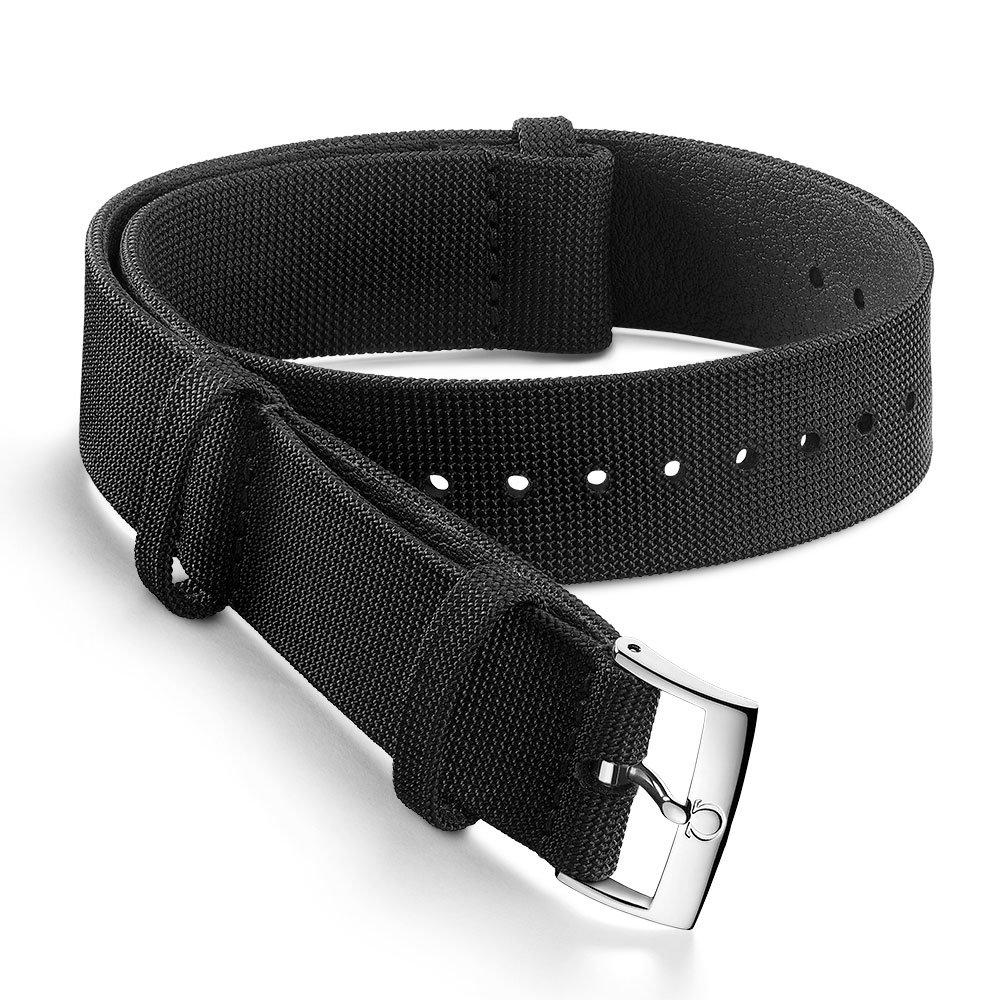 OMEGA Black Nato Watch Strap