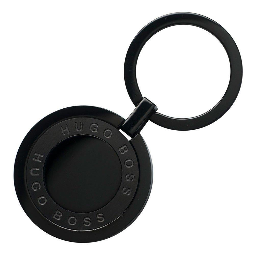 BOSS Framework Black Stainless Steel Keyring