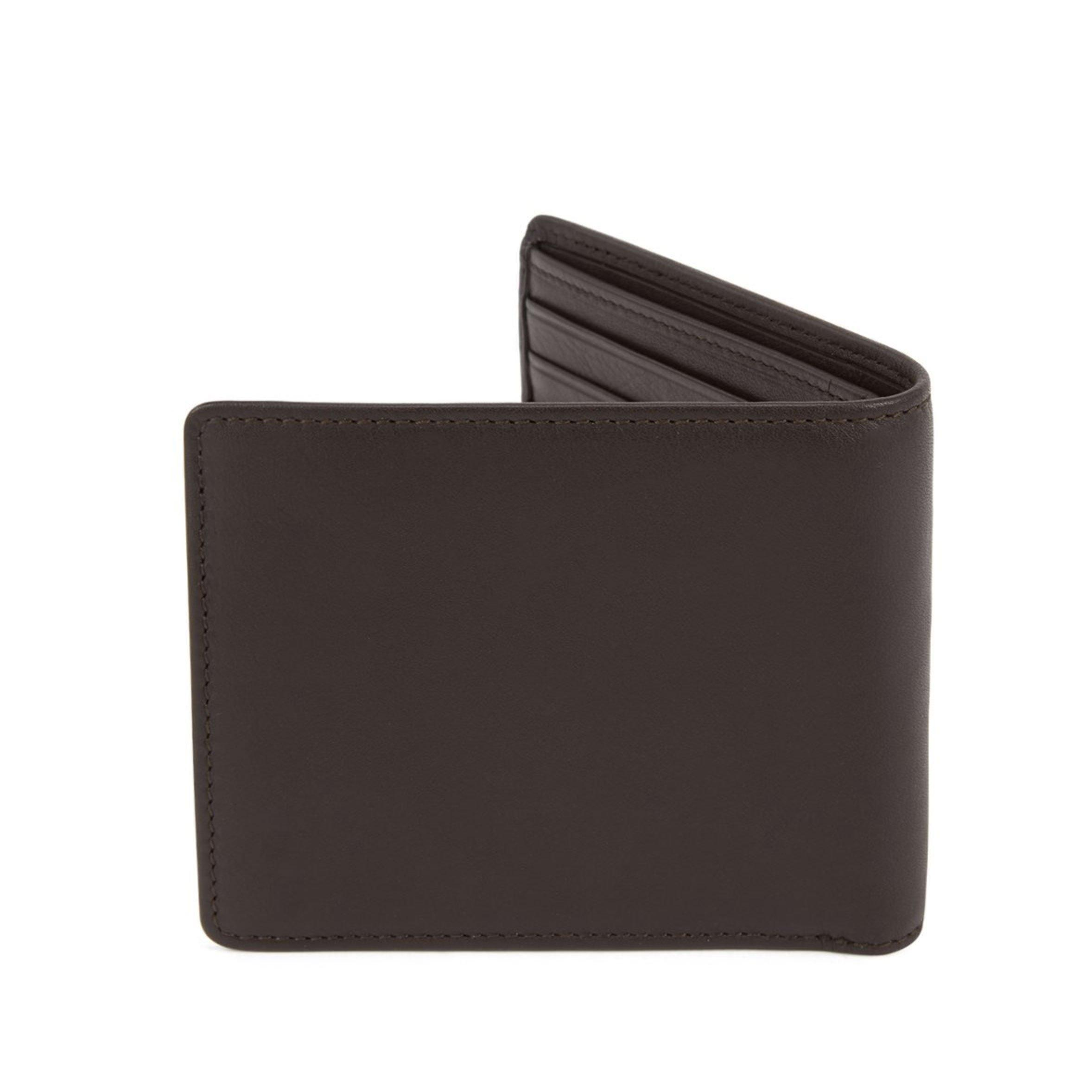 BOSS Brown Leather Wallet