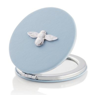 Olivia Burton 3D Bee Blue Mirror