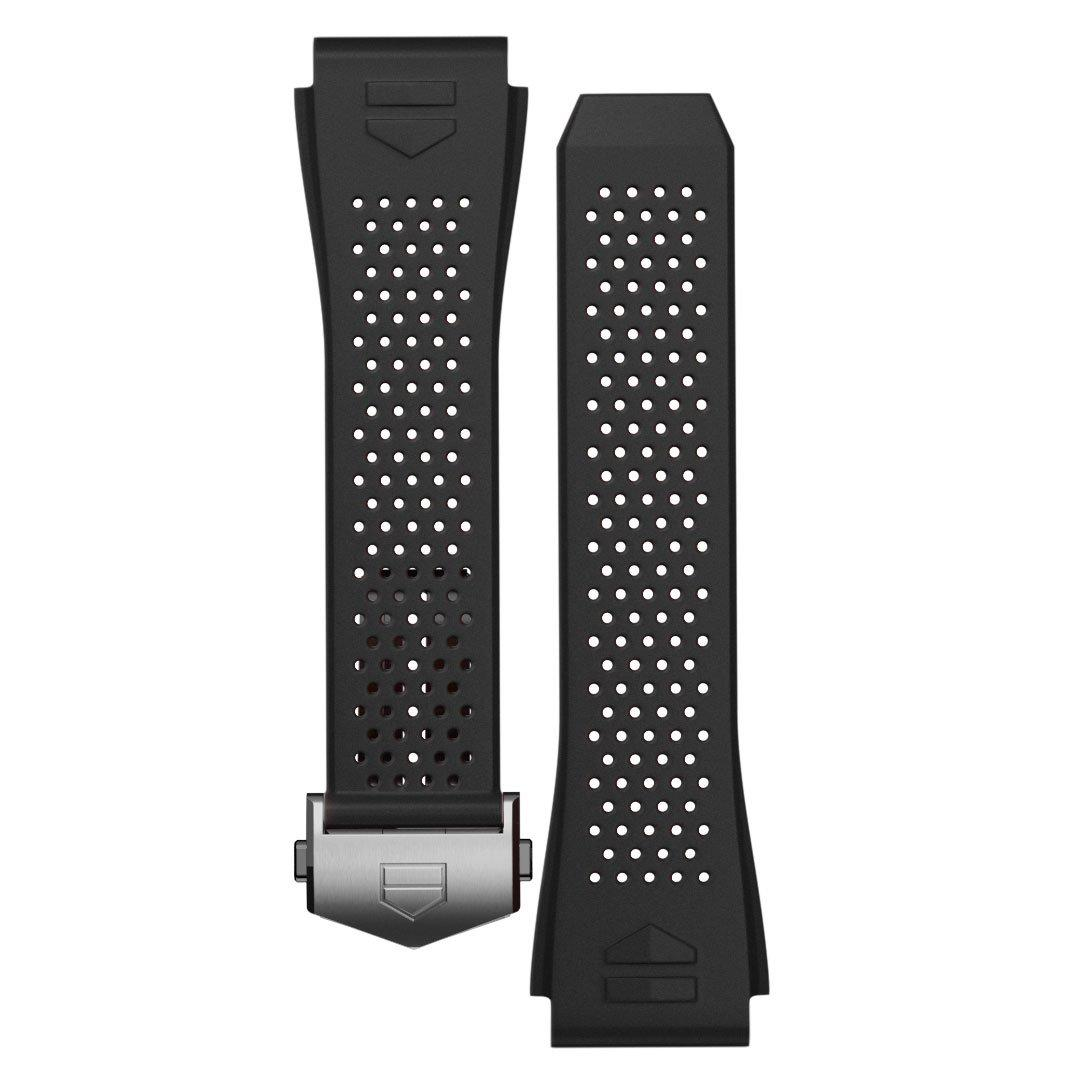 TAG Heuer Connected 2020 Black Rubber Strap