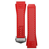 TAG Heuer Connected 2020 Red Rubber Strap