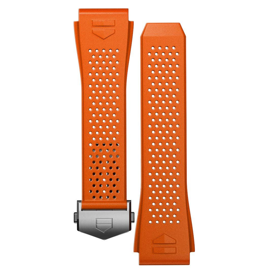 TAG Heuer Connected 2020 Orange Rubber Strap