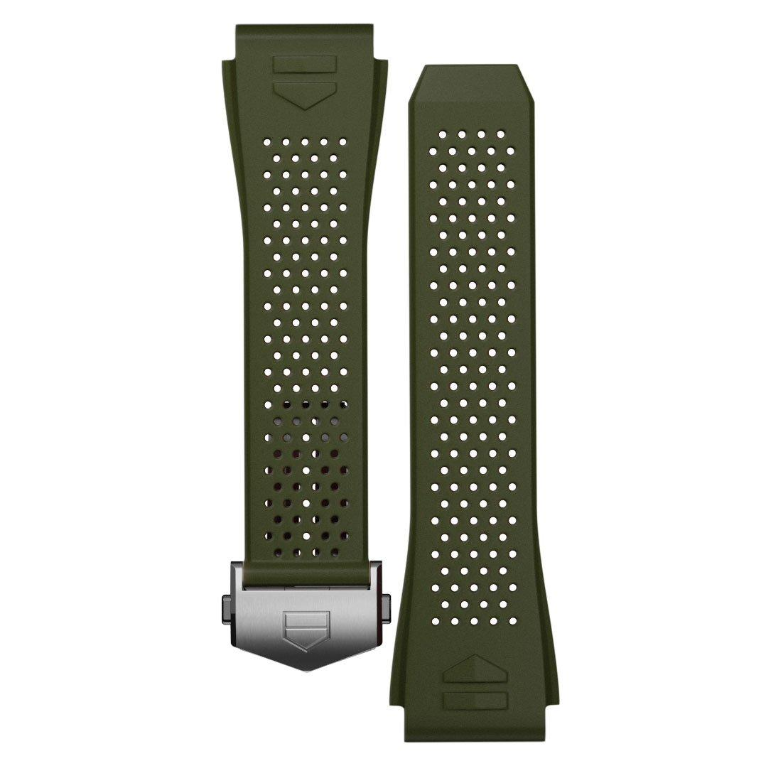 TAG Heuer Connected 2020 Khaki Rubber Strap