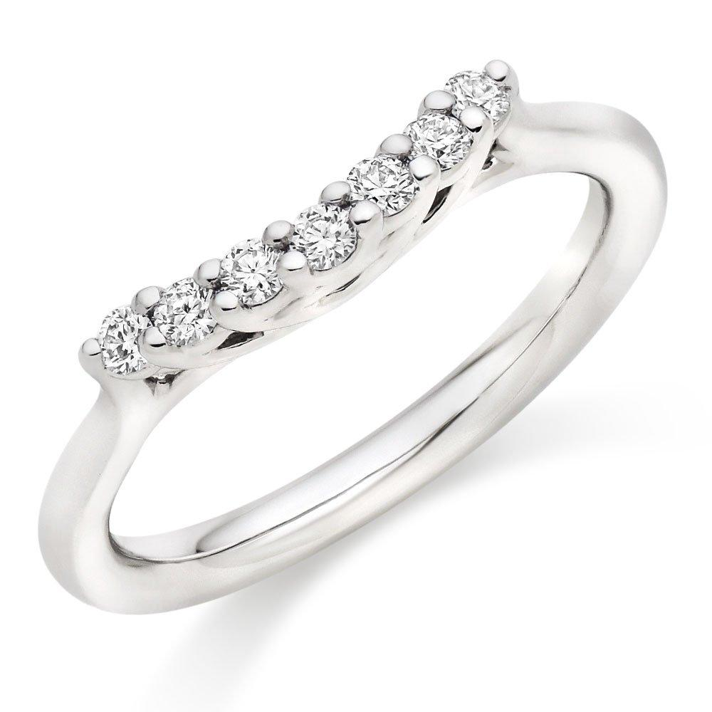 Hearts On Fire Felicity Platinum Diamond Ring