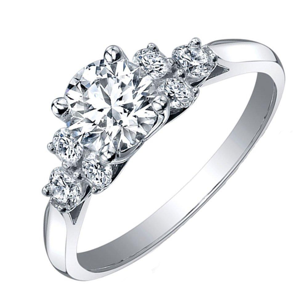 Maple Leaf Diamonds 18ct White Gold Diamond Ring