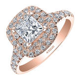 Maple Leaf Diamonds 18ct Rose Gold Diamond Ring