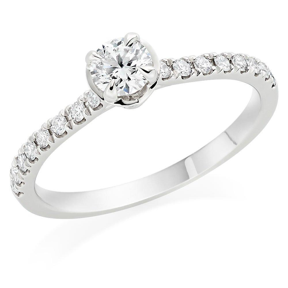 Hearts On Fire Juliette Platinum Diamond Solitaire Ring