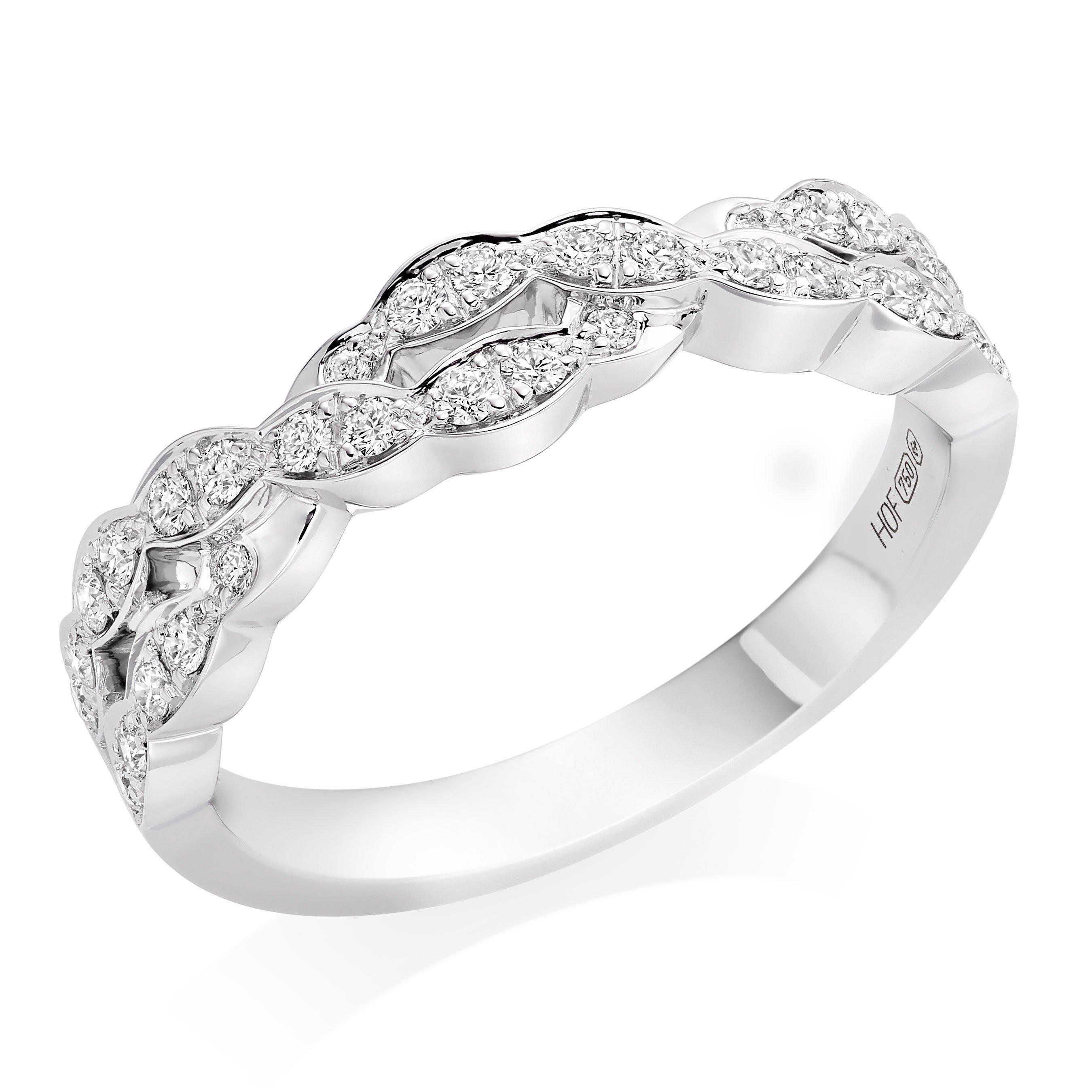Hearts On Fire Lorelei 18ct White Gold Diamond Eternity Ring