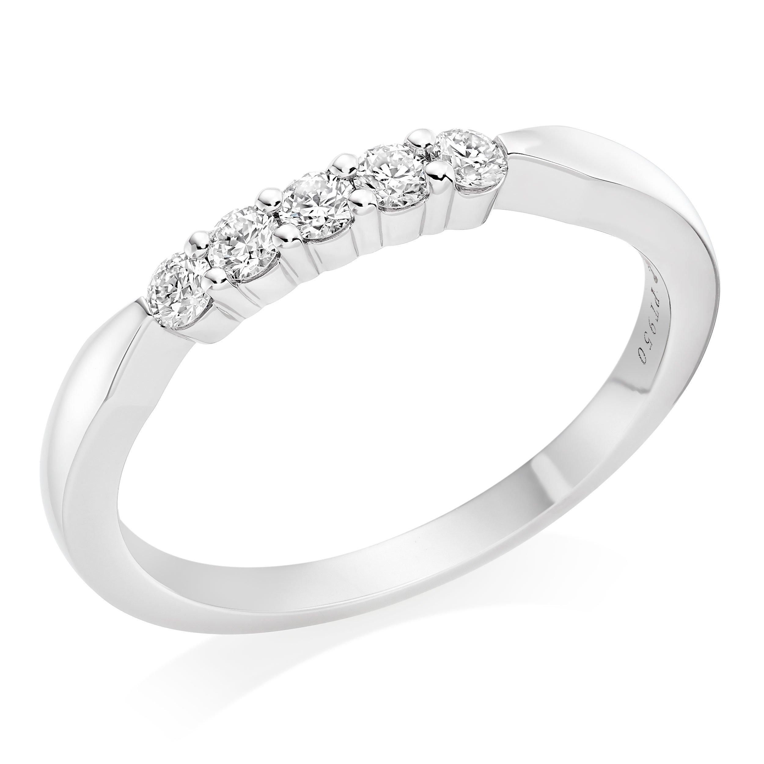 Hearts On Fire Platinum Diamond Wedding Ring