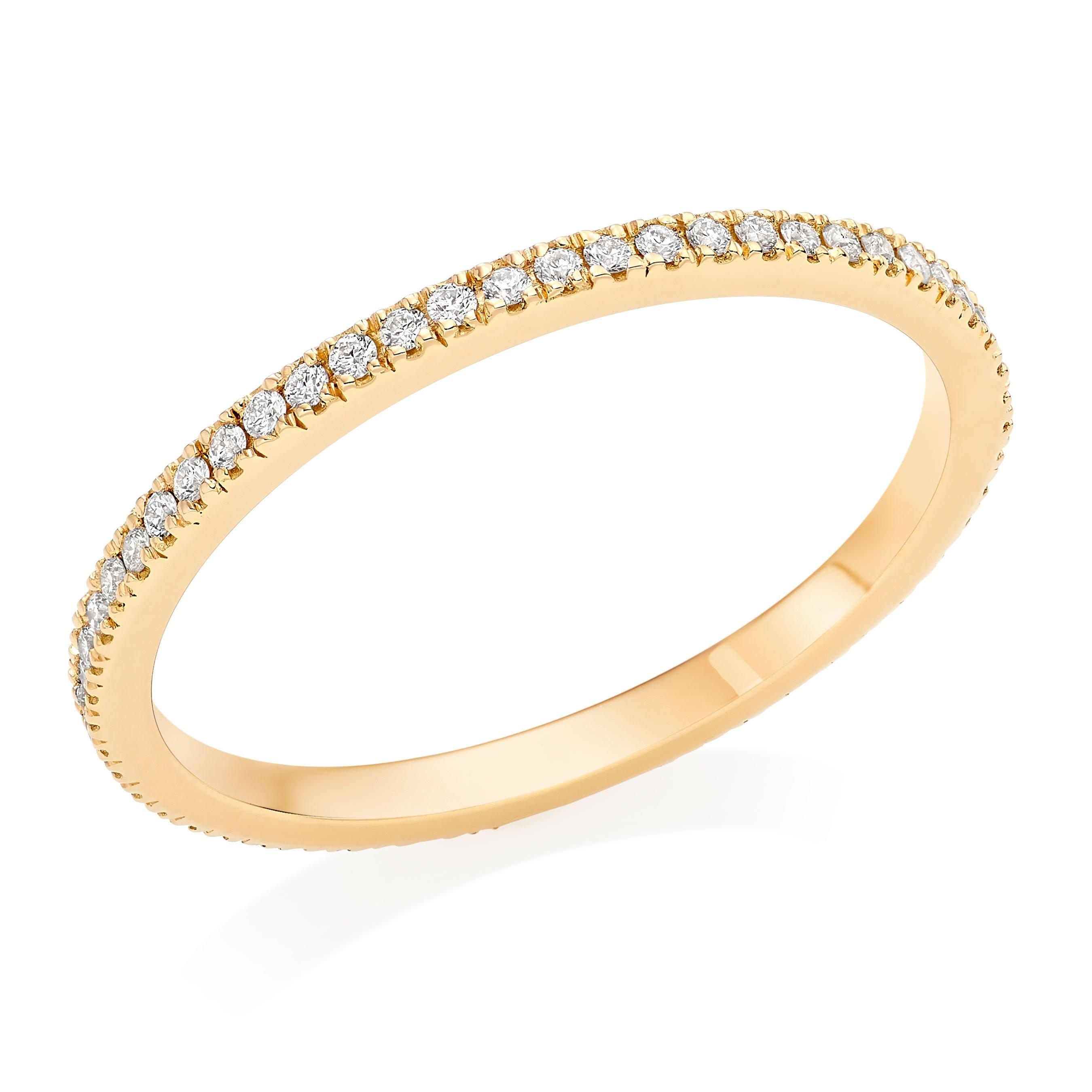 Hearts On Fire 18ct Gold Diamond Eternity Ring