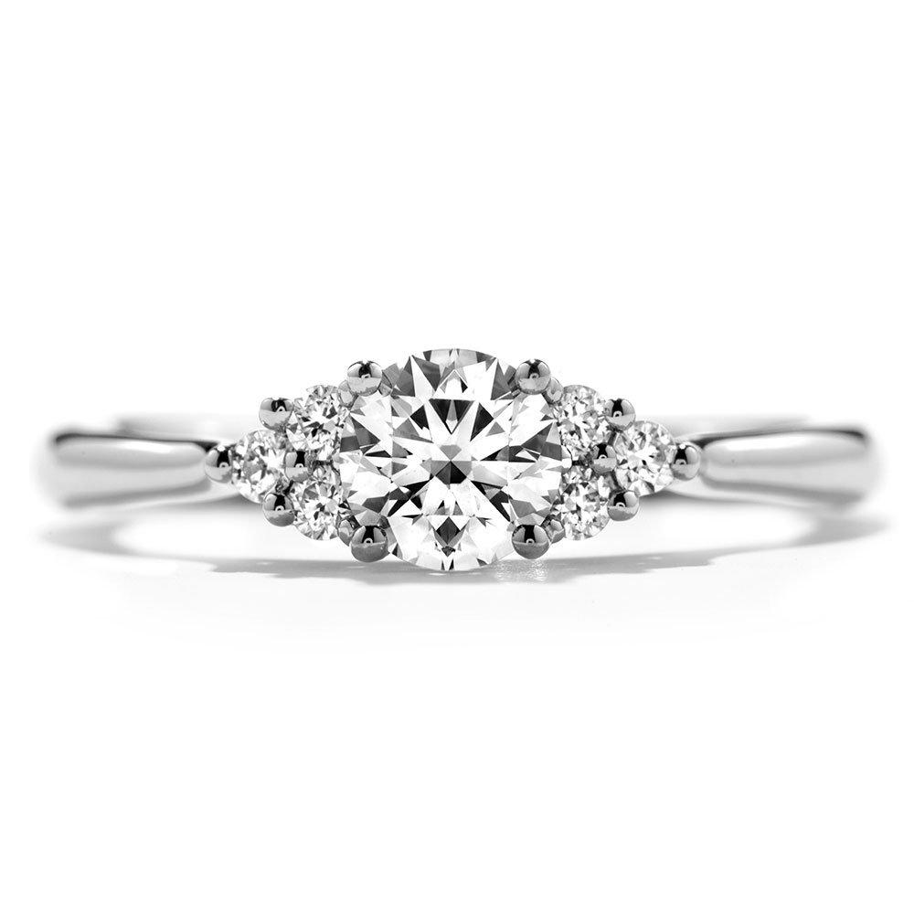 Hearts On Fire Platinum Diamond Cluster Ring