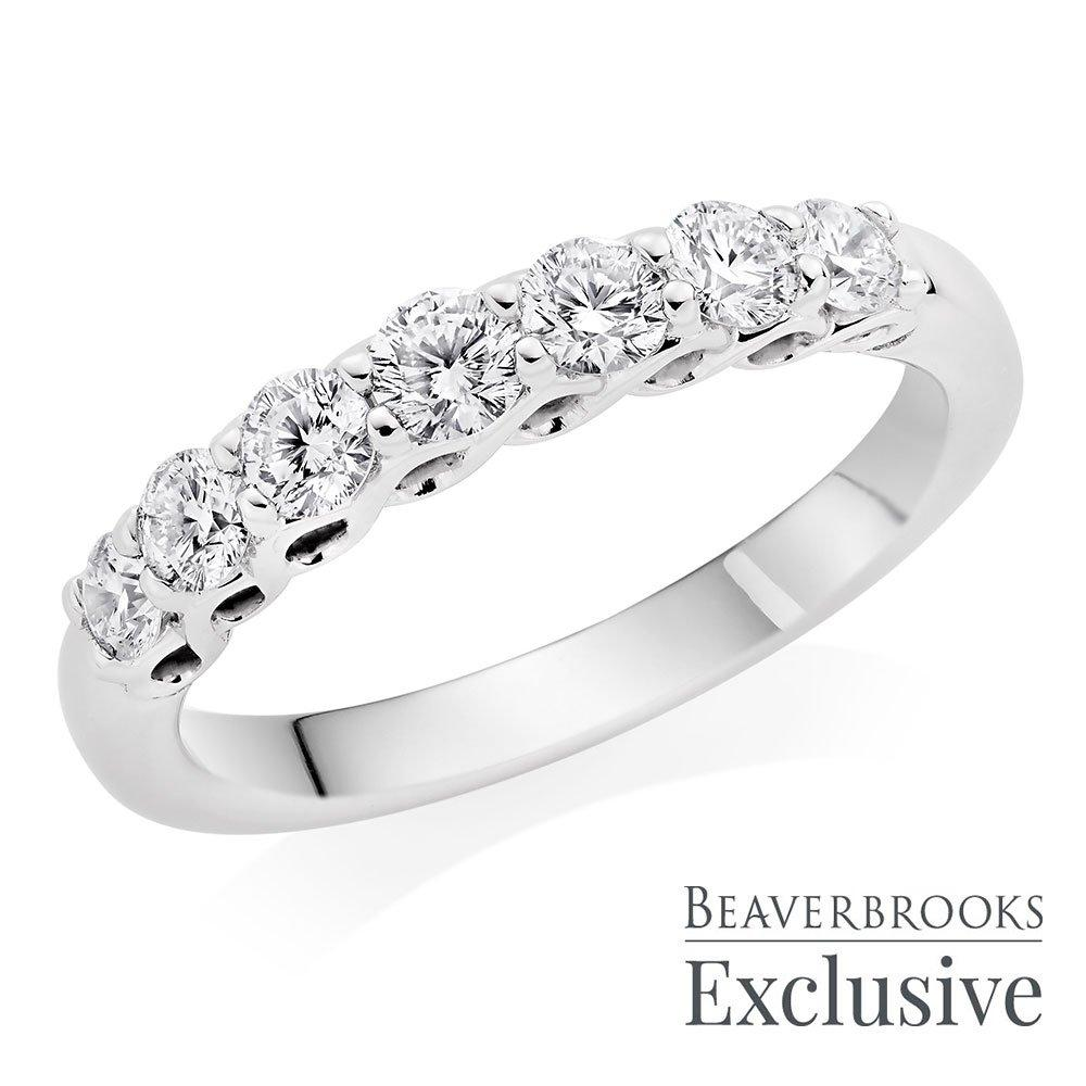 Beyond Brilliance 18ct White Gold Diamond Eternity Ring