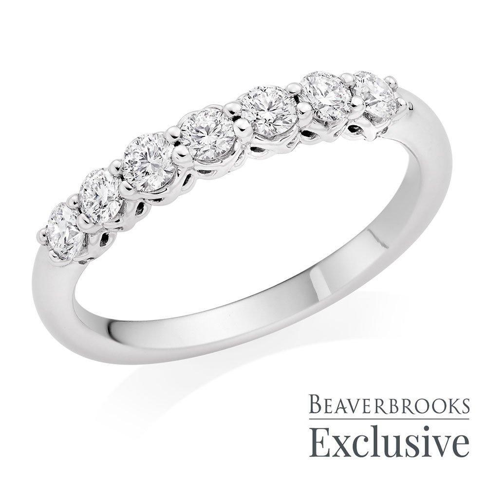 Beyond Brilliance 18ct White Gold Diamond Eternity Ring