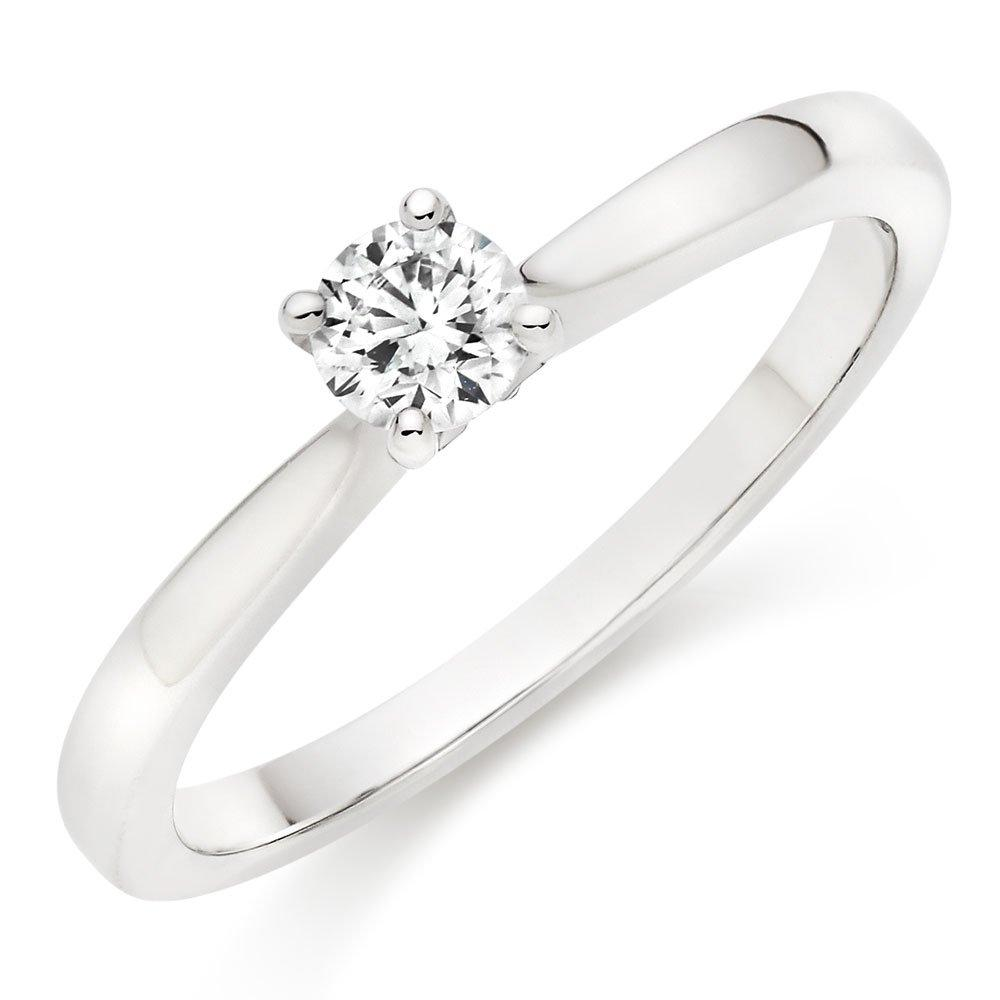 Hearts On Fire Purely Bridal Platinum Diamond Solitaire Ring