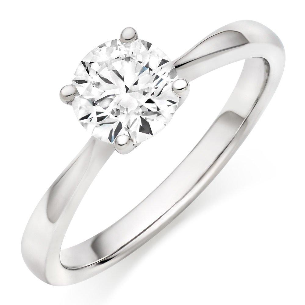 Hearts On Fire Purely Bridal V Platinum Diamond Ring