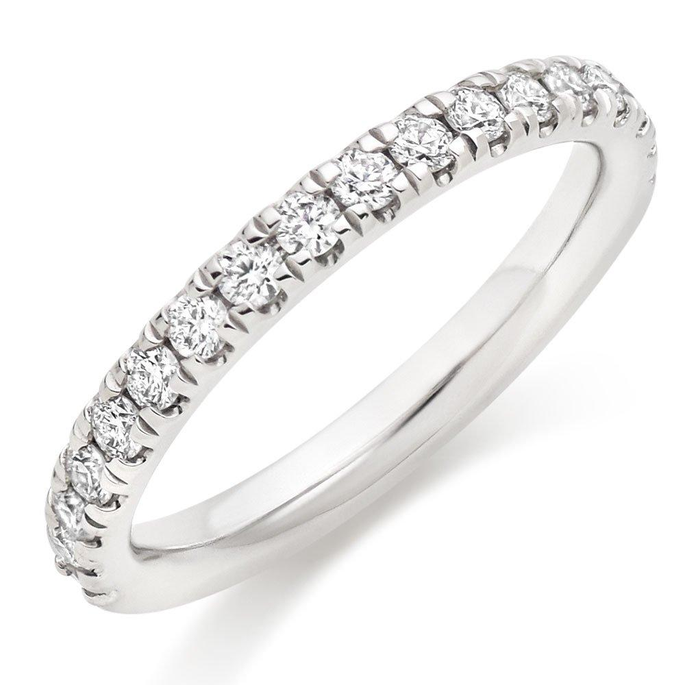 Hearts On Fire Platinum Diamond Eternity Ring
