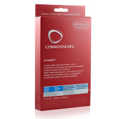 Connoisseurs Ultrasoft Silver Jewellery Polishing Cloth