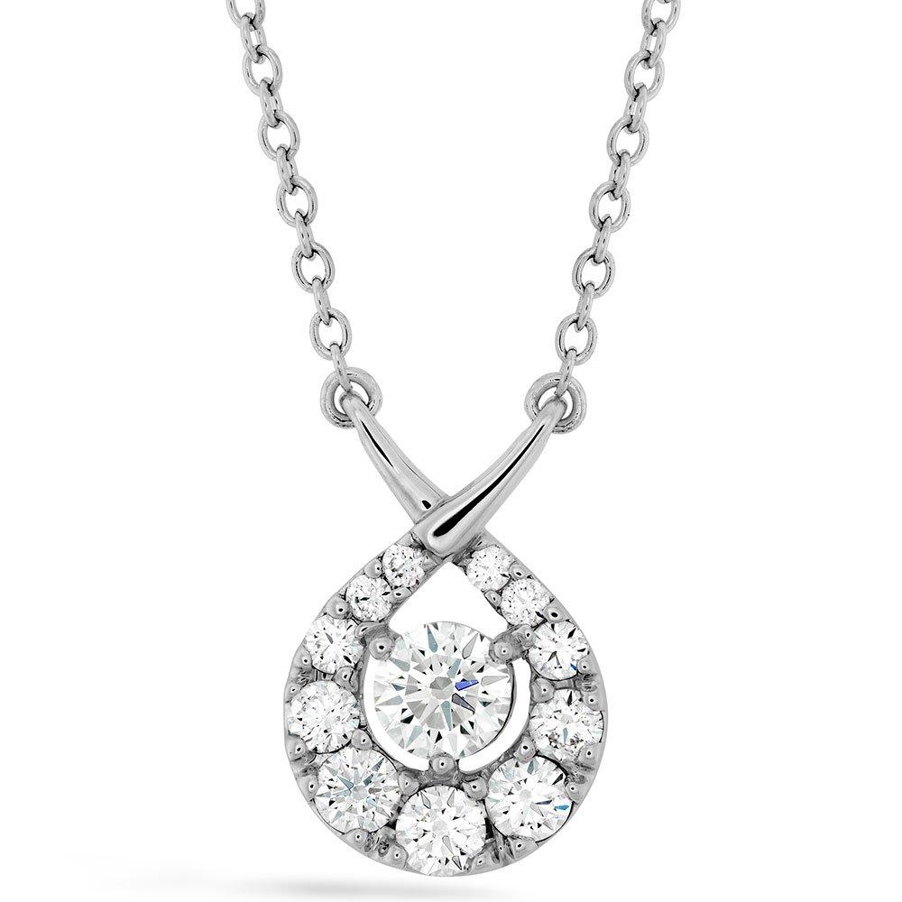 Hearts On Fire Optima 18ct White Gold Diamond Pendant