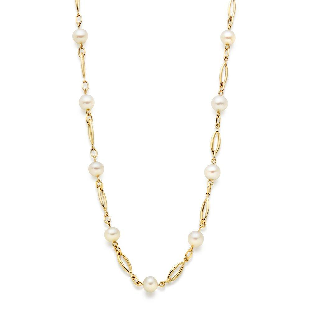 9ct Gold Freshwater Cultured Pearl Necklace