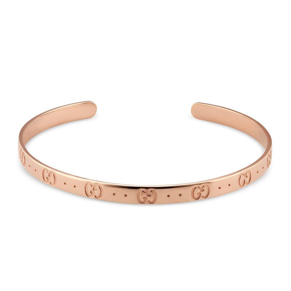 Gucci Icon 18ct Rose Gold Bangle