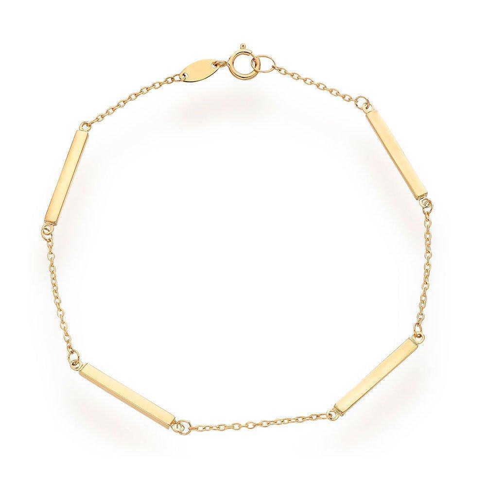 9ct Gold Bar Bracelet