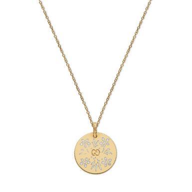 Gucci Icon 18ct Gold Pendant