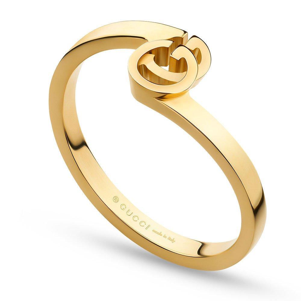 Gucci Running G 18ct Yellow Gold Ring