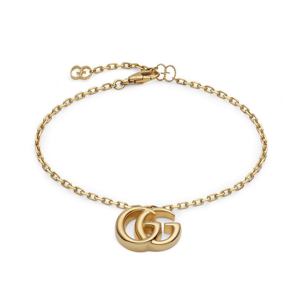 Gucci Double G 18ct Gold Bracelet