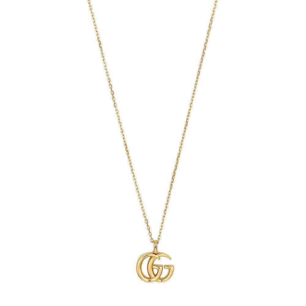 Gucci Running G 18ct Gold Necklace