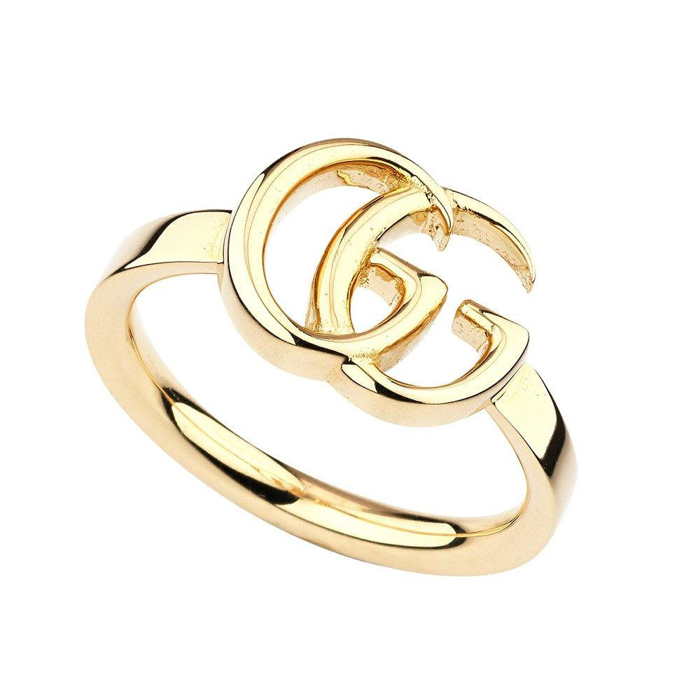 Gucci Running G 18ct Gold Ring