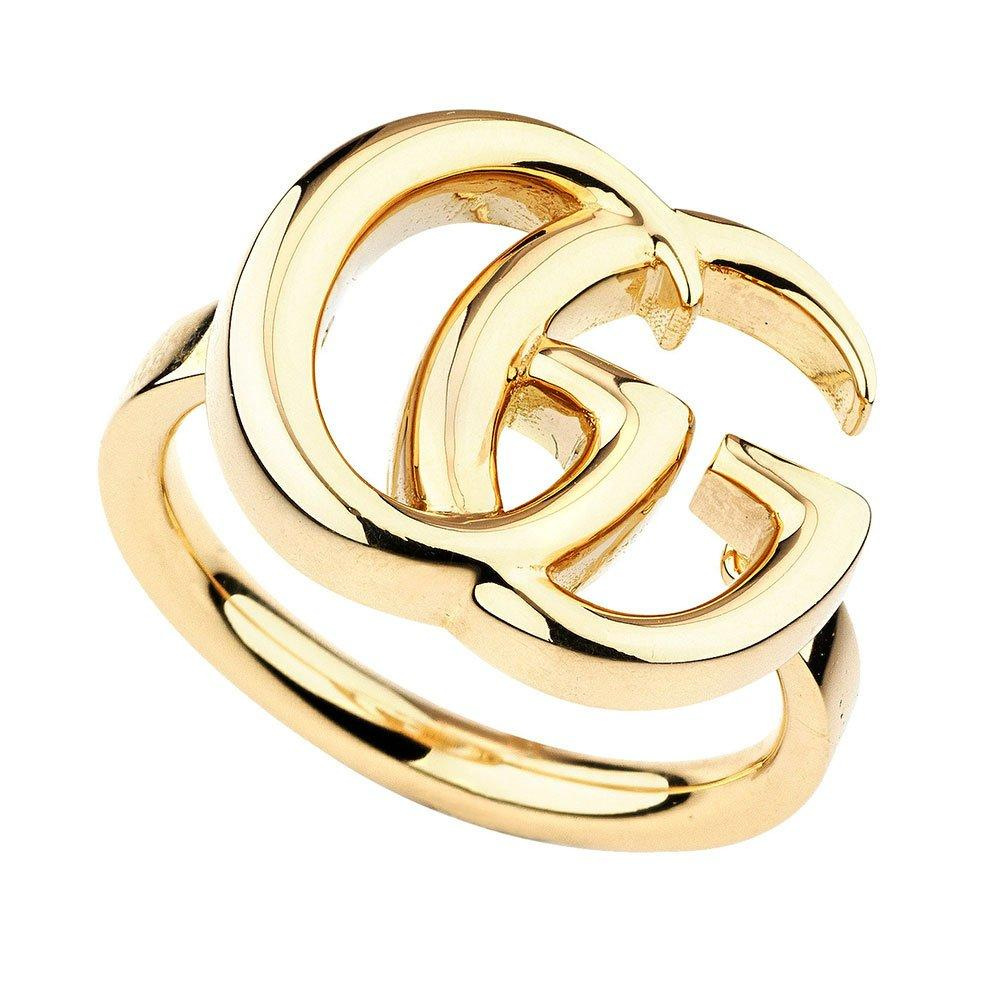 Gucci Running G 18ct Gold Ladies Ring