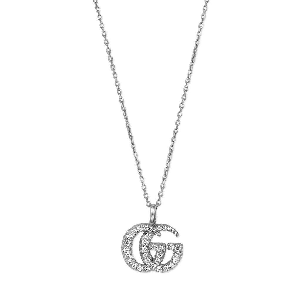 Gucci Running G 18ct Gold Pendant