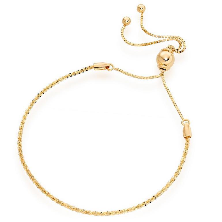 9ct Gold Slider Bracelet