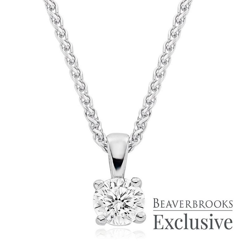 Beyond Brilliance 18ct White Gold Diamond Pendant