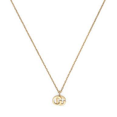 Gucci Running G 18ct Gold Pendant