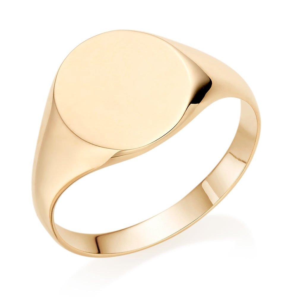 9ct Gold Signet Ladies Ring