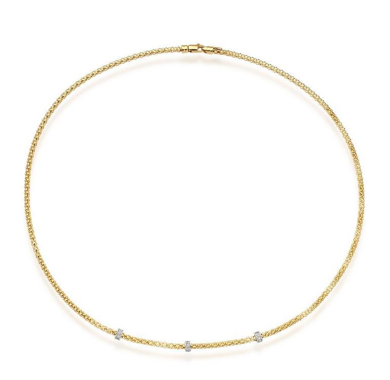 S9ct Gold Diamond Necklace