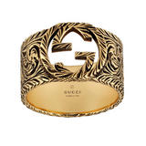 Gucci Interlocking G 18ct Gold Ring