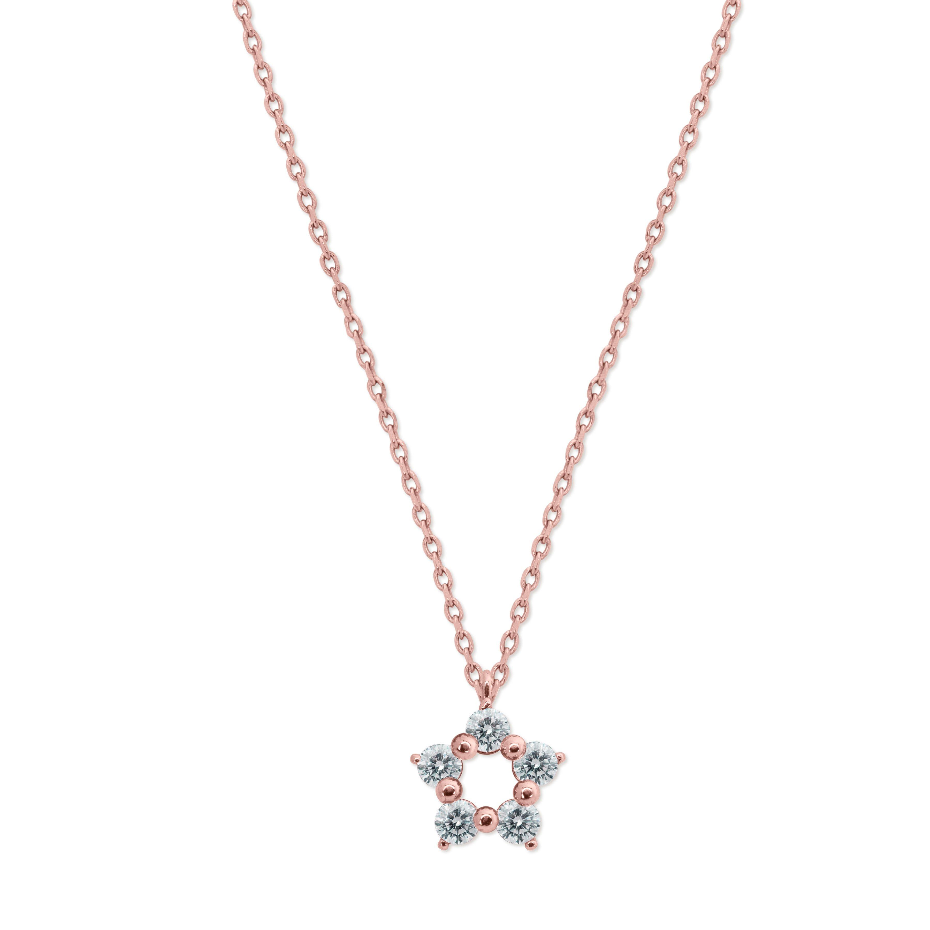 CARAT Libby 9ct Rose Gold Necklace