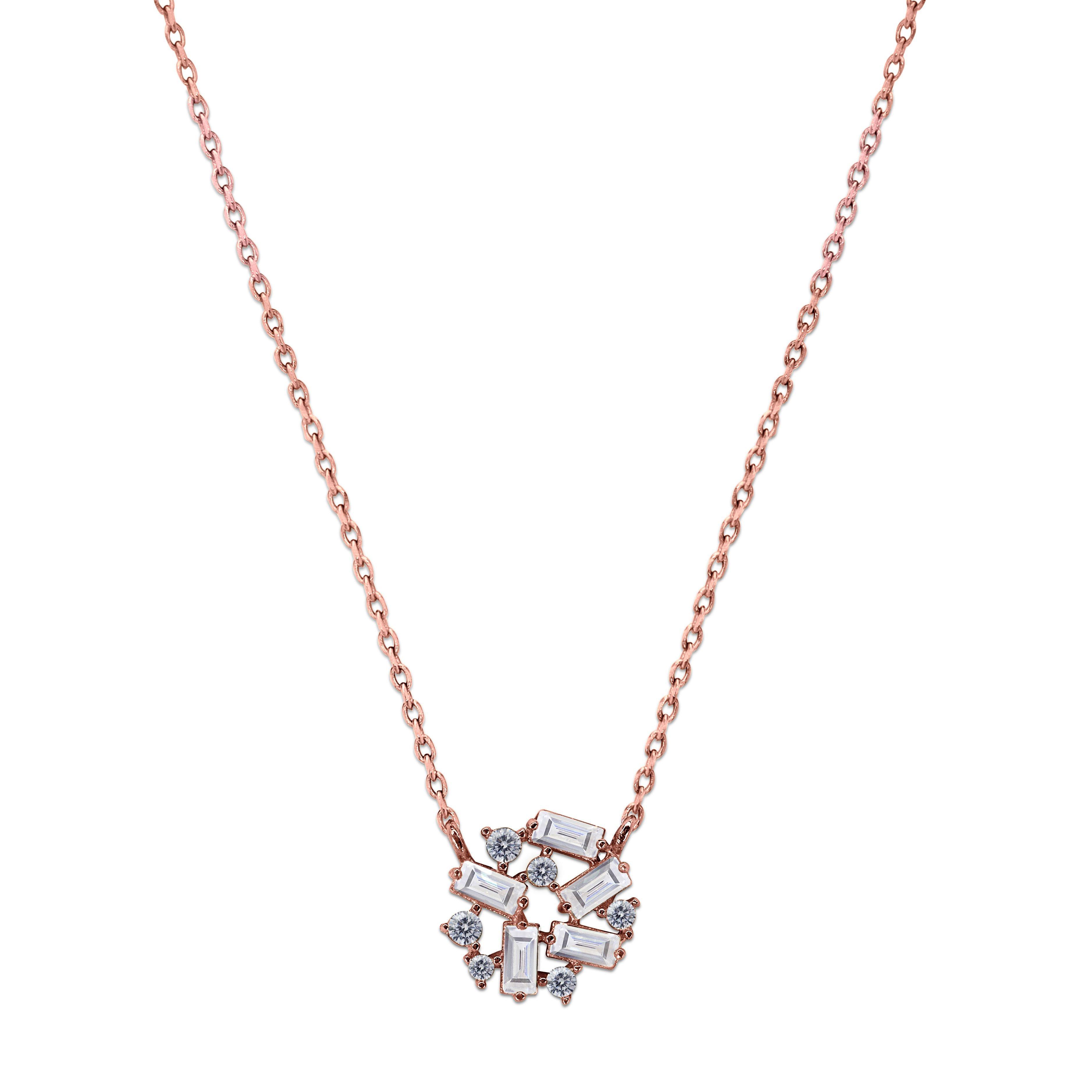 CARAT Rina 9ct Rose Gold Necklace