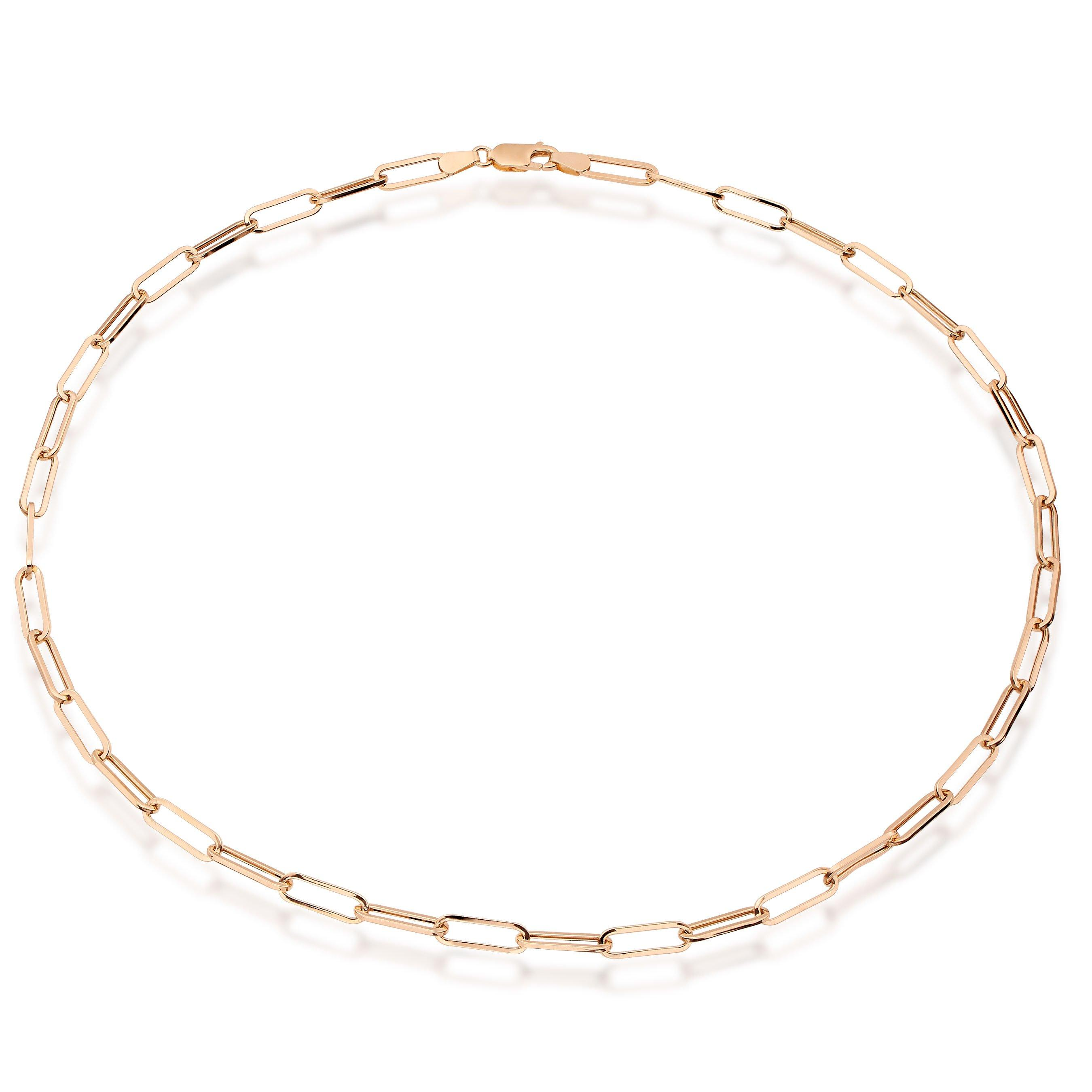 9ct Gold Link Necklace