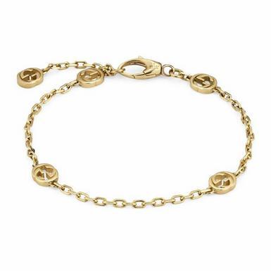 Gucci Interlocking G 18ct Gold Bracelet