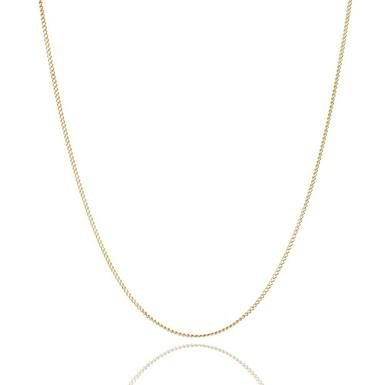 9ct Yellow Gold Curb Chain