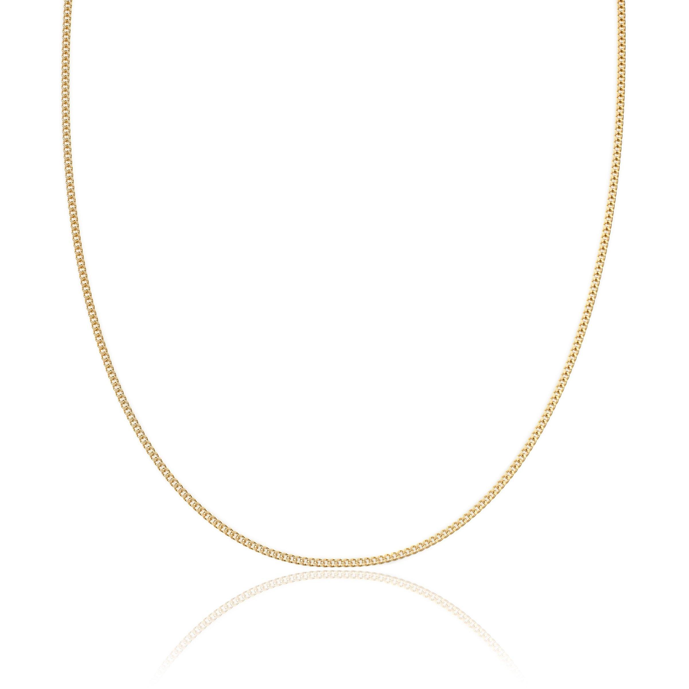 9ct Gold Curb Chain 50cm