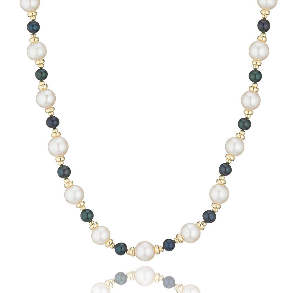 9ct Gold Freshwater Cultured Pearl Necklace - 40cm