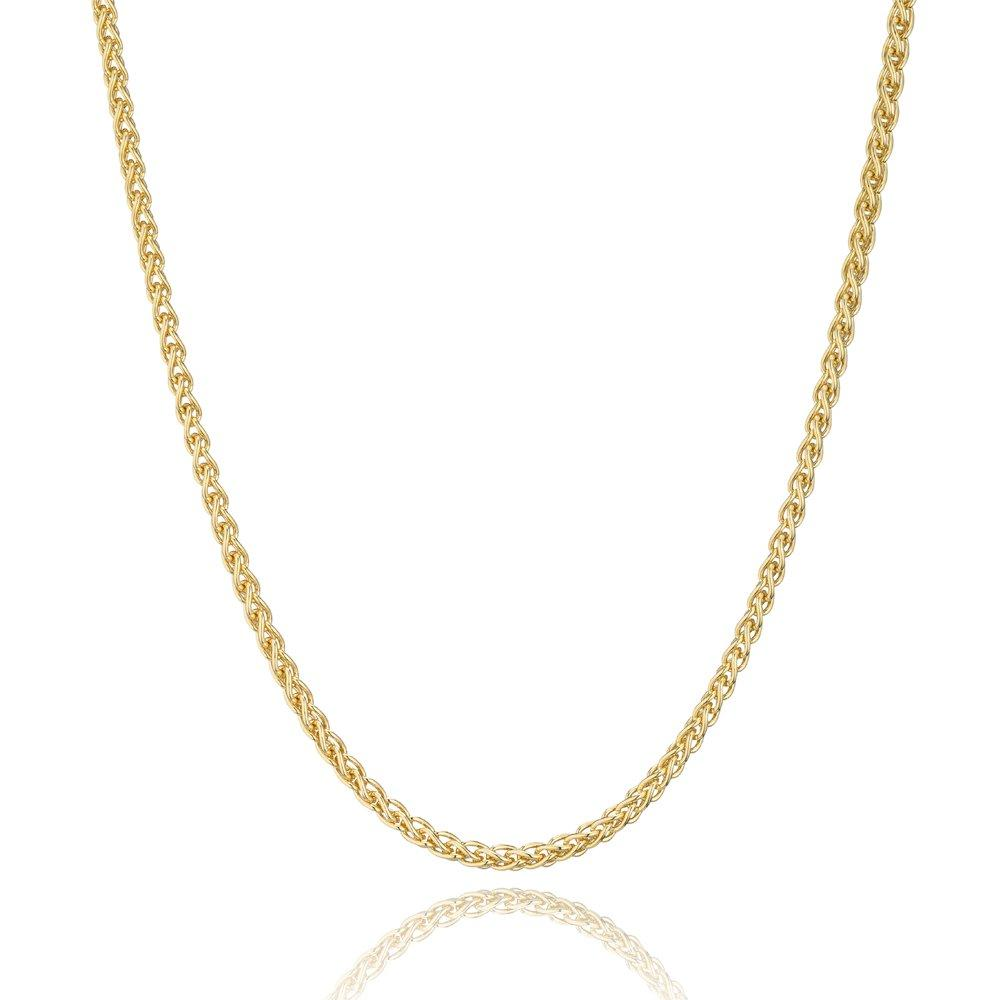 9ct Yellow Gold Spiga Chain 50cm