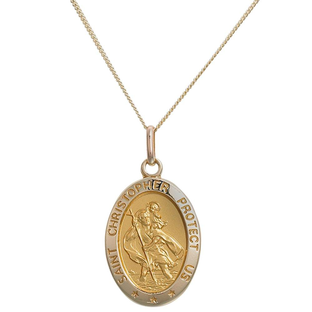 9ct Gold Saint Christopher Pendant